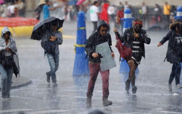 Primer frente frío de la temporada provocará lluvias en todo el país - Primer frente frío de la temporada provocará lluvias en todo el país