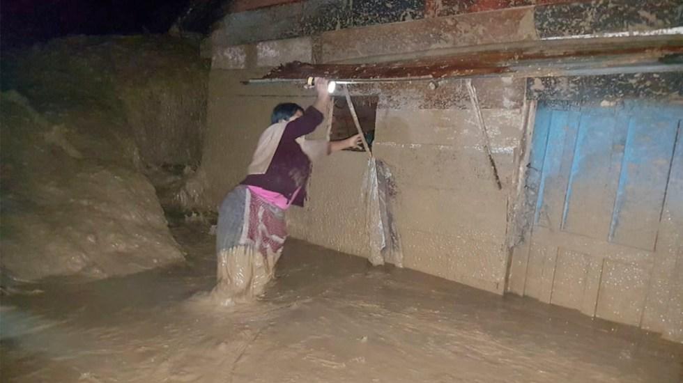 Lluvias dejan una mujer muerta y 239 afectados en Guatemala - Lluvias dejan una mujer muerta y 239 afectados en Guatemala