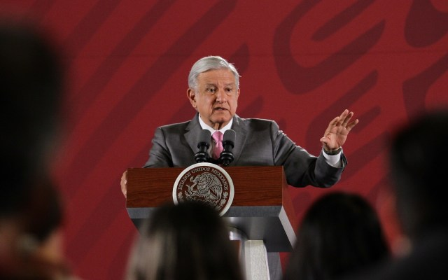 """Una """"vergüenza"""" intento de Morena por retener Mesa Directiva: López Obrador - Foto de Notimex-Guillermo Granados."""