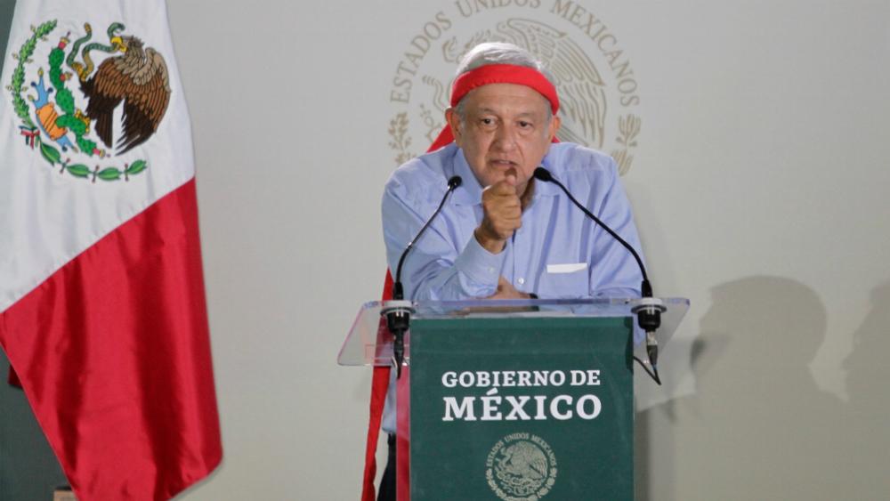 Deshonestidad y corrupción han dado al traste con todo: AMLO en Chihuahua - Foto de Notimex