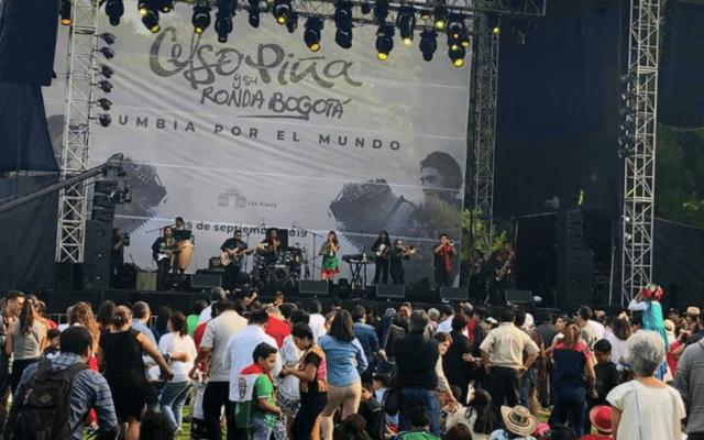 Celebran fiestas patrias en Los Pinos - Foto de Centro Cultural Los Pinos