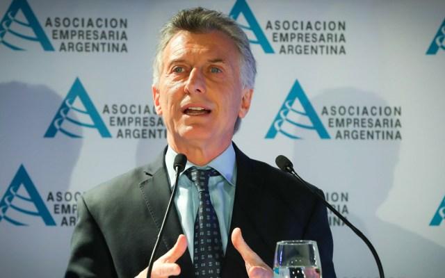 Tras derrota en las primarias Macri prioriza estabilizar la economía de Argentina - Mauricio Macri