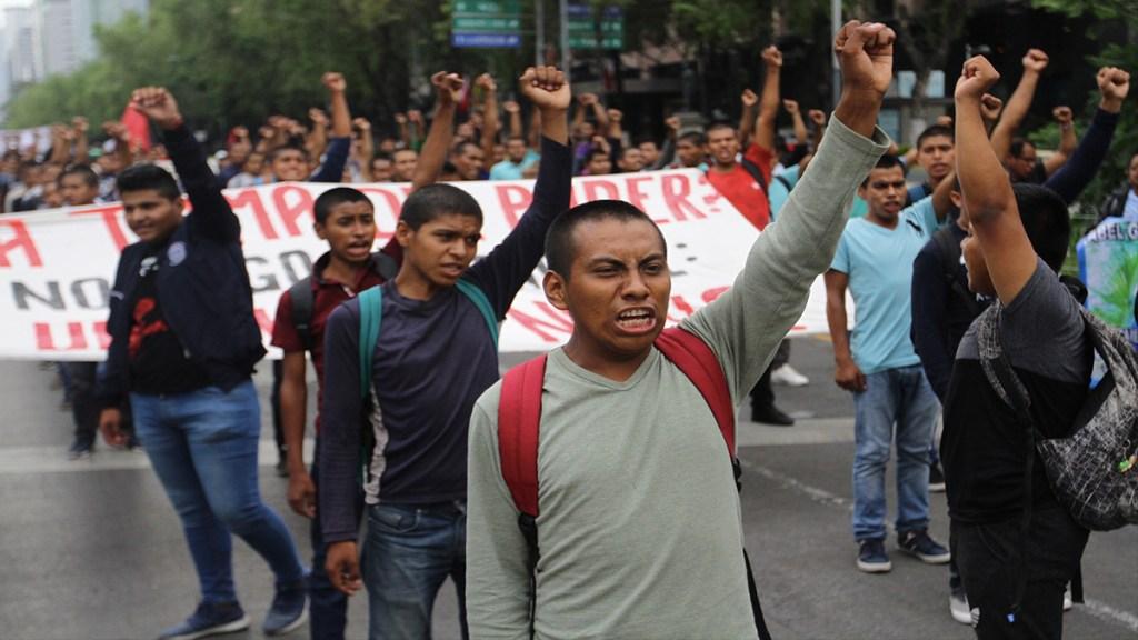 Ruta de la marcha a cinco años de Ayotzinapa - marcha quinto aniversario normalistas de ayotzinapa