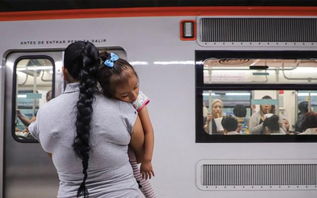 El Metro: columna vertebral de la movilidad en la Ciudad de México - Foto de Notimex