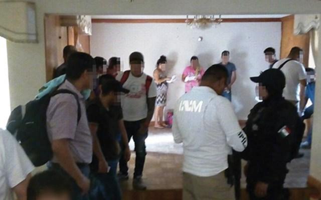Rescatan a 19 migrantes en Tamaulipas - Foto de Secretaría de Seguridad Tamaulipas