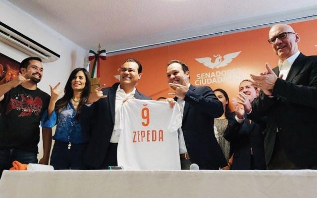 Juan Zepeda se une a Movimiento Ciudadano - Foto de Twitter Movimiento Ciudadano