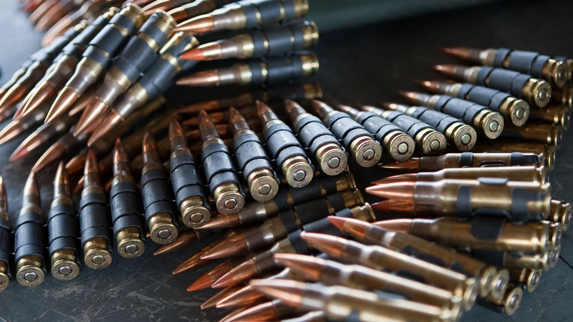 Municiones calibre 50. Foto de General Dynamics Corporation