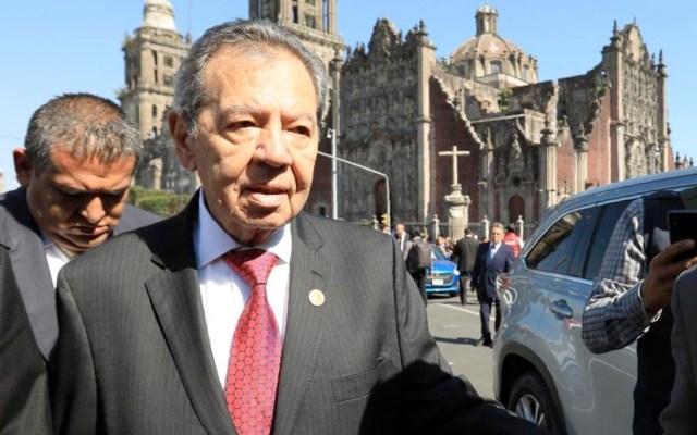 """Muñoz Ledo acusa """"guerra sucia"""" en su contra por declaraciones sobre migración - muñoz ledo Cámara de Diputados"""