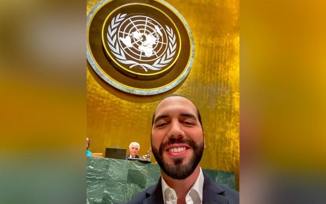 Bukele pide cambiar el formato obsoleto de la Asamblea General de las Naciones Unidas - Nayib Bukele