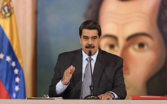 """Maduro asegura que le """"dan risa"""" sanciones contra funcionarios venezolanos - Foto de @PartidoPSUV"""