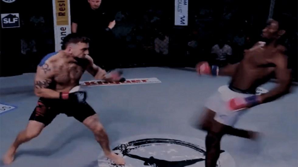 #Video Luchador de MMA noquea a su oponente en solo tres segundos - nocaut más rápido mma