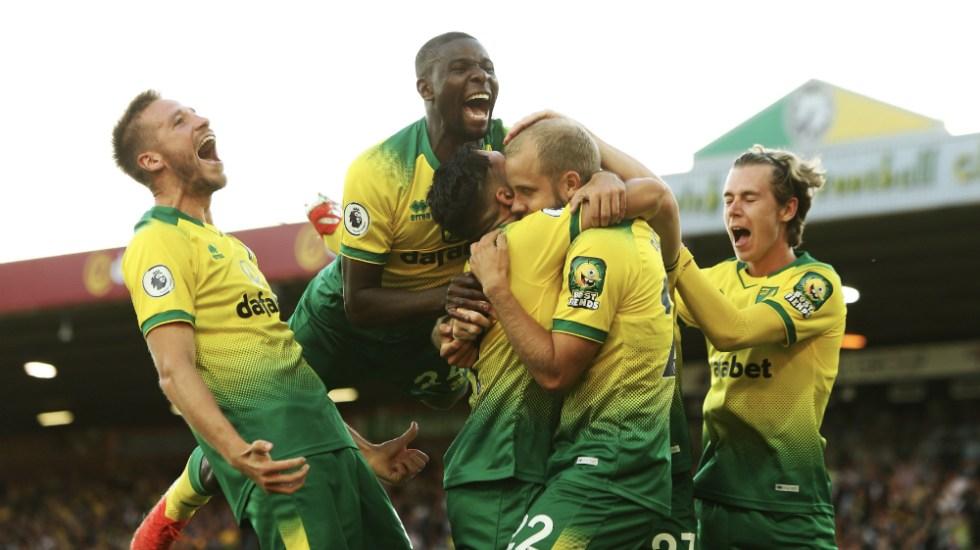 Norwich City le quita el invicto a Manchester City en Premier League - Foto de Norwich City