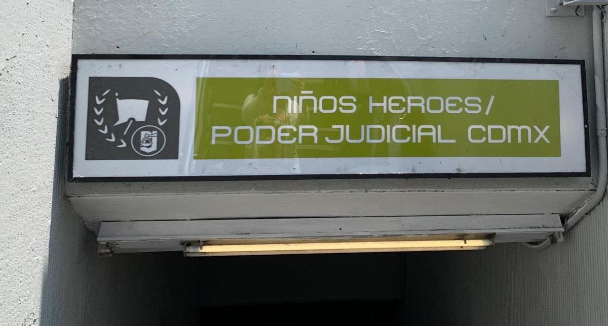 Nueva señalización de la estación. Foto de @PJCDMX