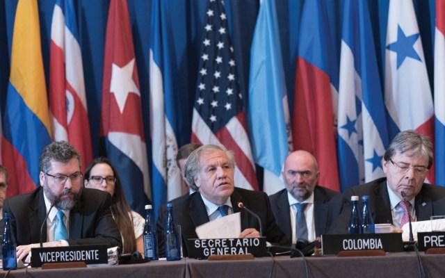 OEA iniciará la sucesión de Luis Almagro - Foto de Twitter Luis Almagro