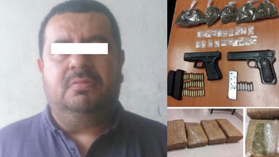 Orlando S., ejecutado en plaza comercial de Morelos, fue detenido con armas y droga. Foto de Diario de Morelos
