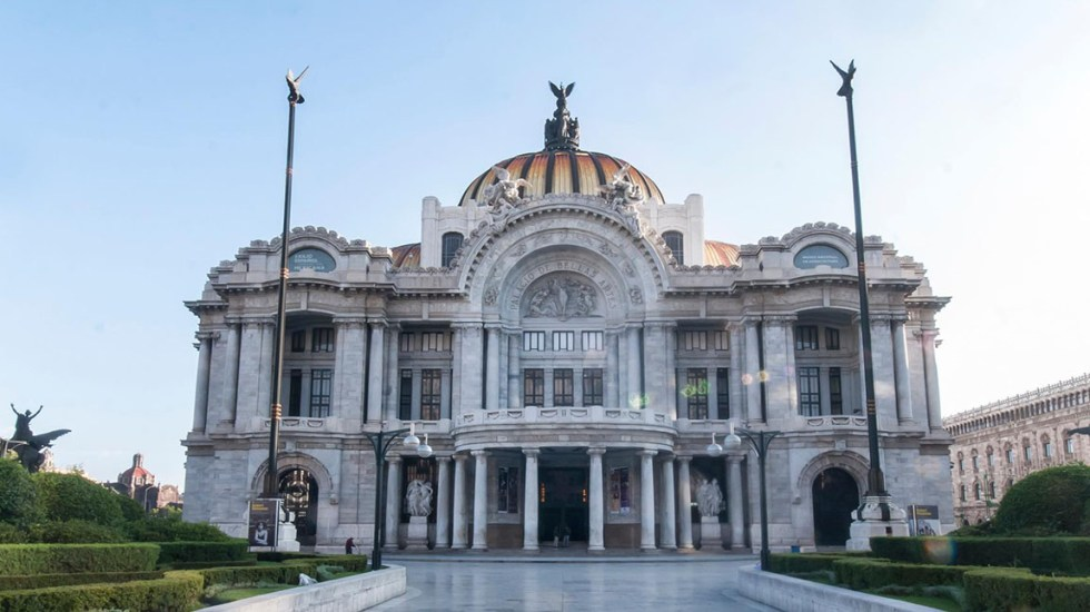 Por COVID-19, la Secretaría de Cultura suspende actividades en todos sus recintos - Palacio de Bellas Artes. Foto de INBA