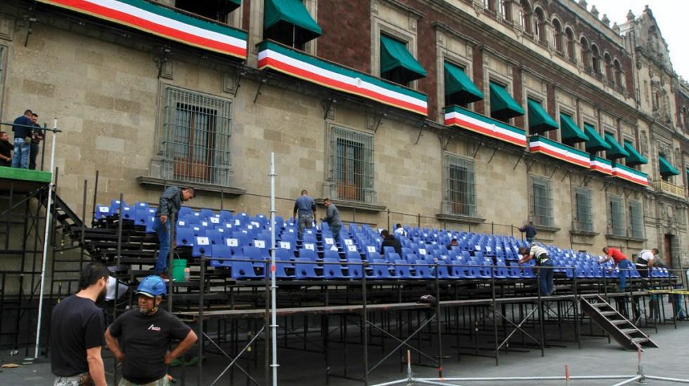 Ceremonia del grito de Independencia se transmitirá en cadena nacional - Archivo. Foto de Notimex