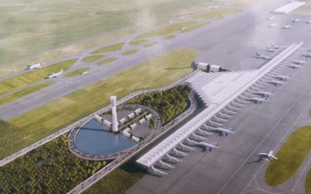 AMLO confía en resolución de amparos para que avance aeropuerto de Santa Lucía - Plano del Aeropuerto Internacional de Santa Lucía. Foto de Forbes