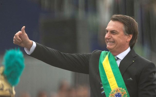 Concluye cirugía de Jair Bolsonaro después de más de cinco horas - Presidente Jair Bolsonaro. Foto de EFE