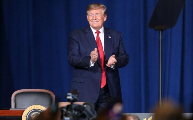Trump da por 'muertas' las conversaciones de paz con talibanes - Presidente Donald Trump. Foto de EFE