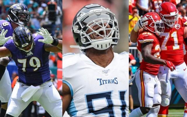 Chiefs, Titans y Ravens dominan los partidos del domingo de la NFL - Ravens Titans Chiefs NFL