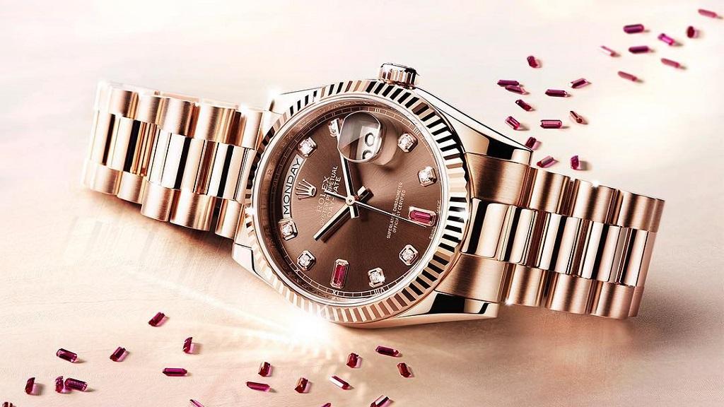 Roban reloj de 8 mil dólares a diplomática estadounidense en la CDMX - Reloj Rolex de mujer. Foto de @rolex