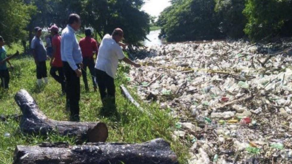 Recolectan 100 toneladas de basura del Río Blanco, Veracruz - Foto de Foro TV