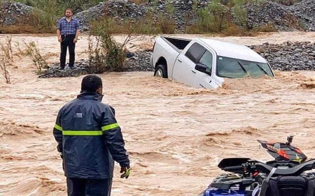 Reportan saldo blanco en Nuevo León tras lluvias provocadas por Fernand - saldo blanco fernand nuevo león