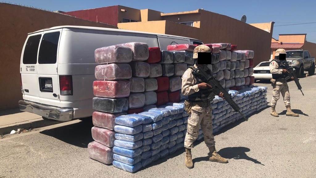 Decomisan casi dos toneladas de mariguana en Tijuana. Noticias en tiempo real