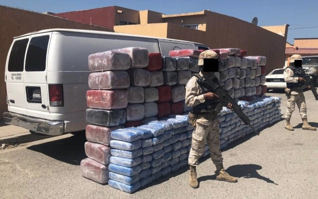 Decomisan casi dos toneladas de mariguana en Tijuana - Sedena decomiso drogas Tijuana