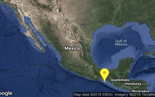 Sismo de magnitud 4.3 sacude Chiapas - sismo al suroeste de tonalá, chiapas