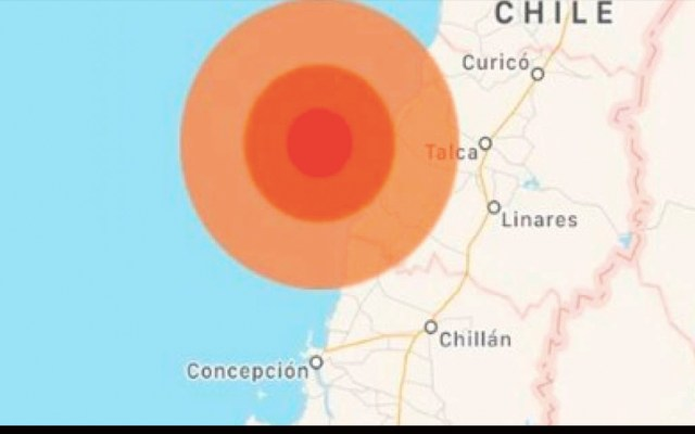 Sismo magnitud 6.6 remece el centro y sur de Chile - sismo magnitud 6.6 chile