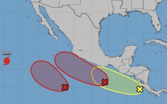 Elevada probabilidad de tres sistemas ciclónicos simultáneos en el Pacífico - Foto de NHC