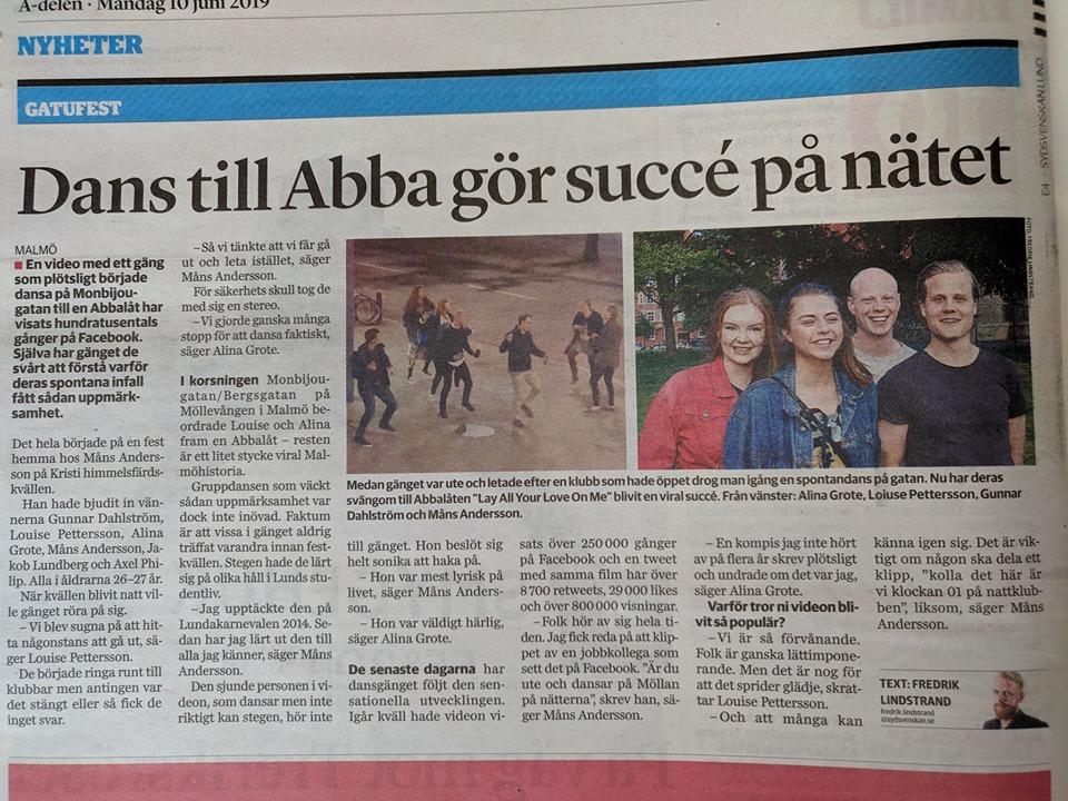 Suecia baile ABBA 2