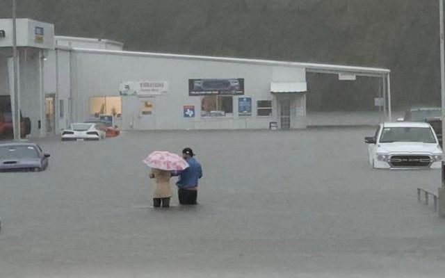 Imelda provoca severas afectaciones en Texas y Louisiana - Texas afectaciones Imelda inundaciones