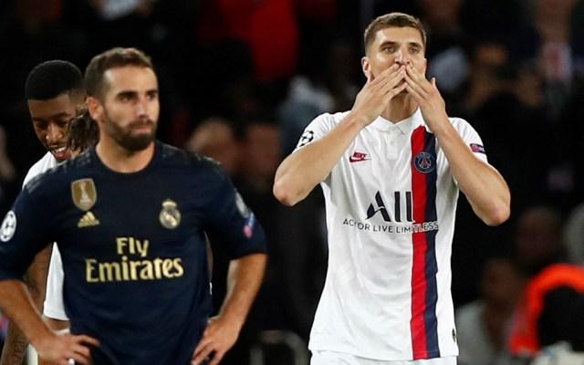 El PSG le pasa por encima al Real Madrid en París - Foto de EFE