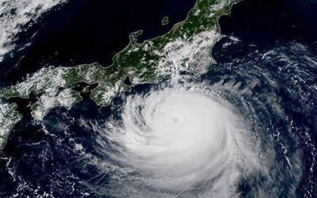 Tifón Faxai pone en alerta al centro y este de Japón - Tifón Faxai. Foto de NOAA