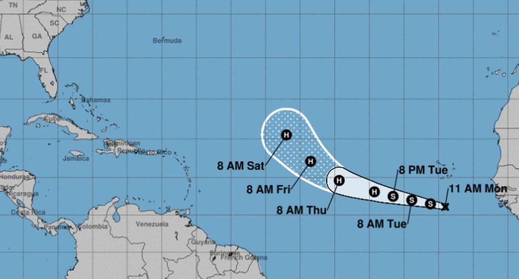 Lorenzo amenaza con convertirse en poderoso huracán - Foto de NHC