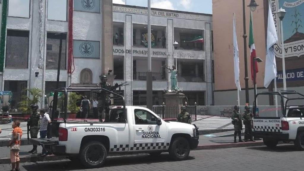 Desalojan Tribunal Superior de Justicia de Morelos por amenaza de bomba. Noticias en tiempo real