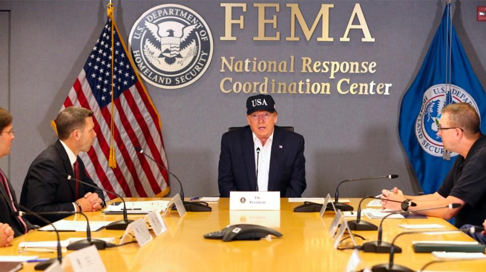 Trump declara estado de emergencia para Georgia, Carolina del Norte y del Sur por Dorian - Trump