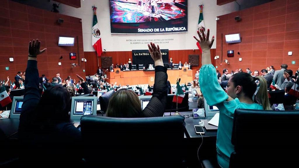 Aprueban ley secundaria que regula Sistema de Mejora Continua de Educación - Votación en Senado de la República. Foto de @senadomexico