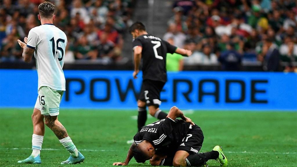 México 0-4 Argentina: la historia de siempre. Noticias en tiempo real