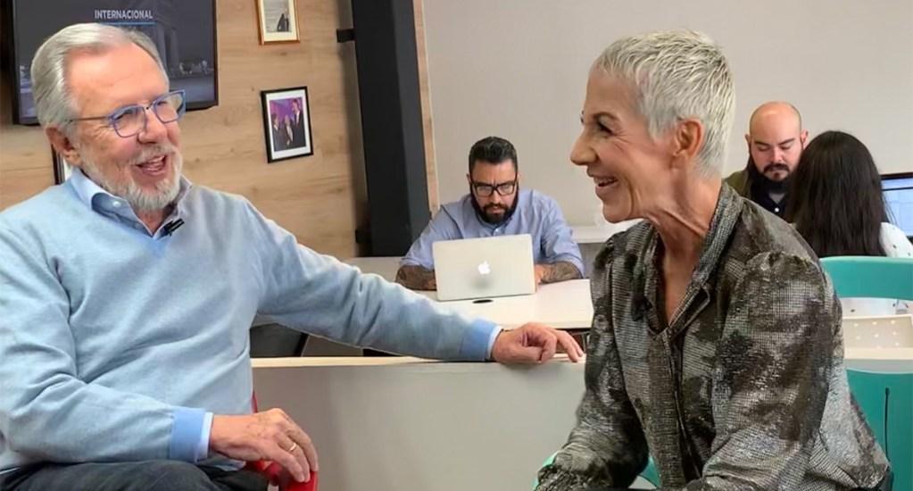 De Mecano a Ya fue; López-Dóriga entrevista a Ana Torroja. Noticias en tiempo real