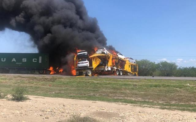 #Video Cierran la carretera Ciudad Victoria-Tampico por fuerte accidente - Foto: especial.