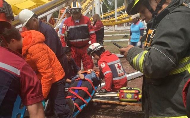 Accidente en la Feria de Chapultepec deja dos muertos - Foto de @MrElDiablo8