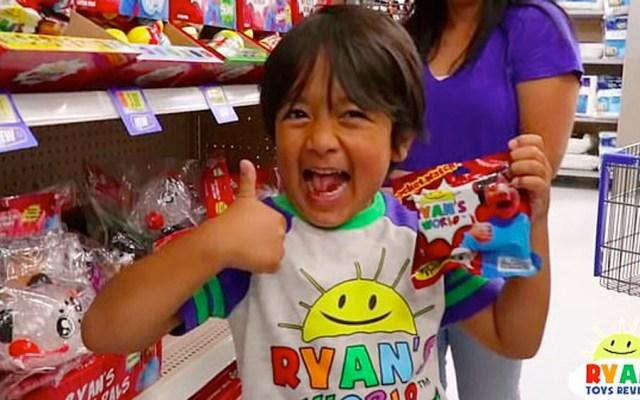 Investigan a padres de youtuber de siete años por no declarar patrocinios - youtuber Ryan Kaji