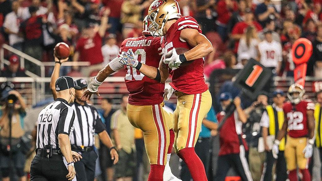 49ers de San Francisco aplastan a unos Browns con fallas en su defensiva - 49ers San Francisco NFL