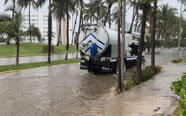 Astudillo pide que gobierno federal apoye a Guerrero - Afectaciones Guerrero Narda tormenta