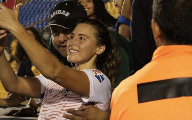 Dash de Houston apoya acciones de Tigres contra acoso a jugadora - Foto de @futfemenilmx