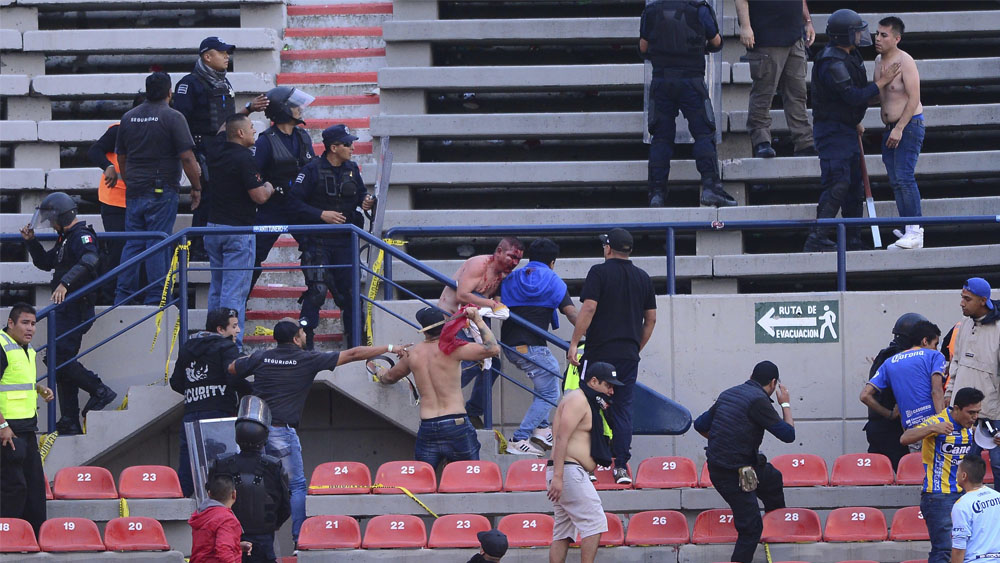 Dan de alta a dos aficionados delQuerétaro lesionados en SLP - Dan de alta a dos aficionados delQuerétaro lesionados en SLP